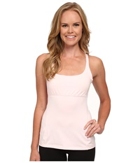 Lucy Powerfully Poised Bra Tank Pink Pearl Women's Sleeveless