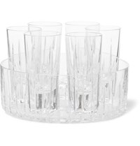 Linley Trafalgar Shot Glass And Cooler Set Clear