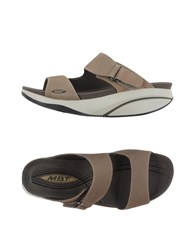 Mbt Footwear Sandals Women Khaki