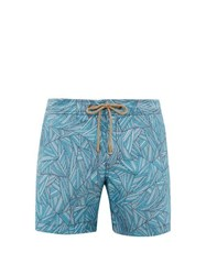 Thorsun Titan Graphic Print Swim Shorts Blue Multi