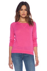 Candc California Cashmere Blend Sweater Pink