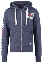 Superdry Tracksuit Top Enamel Blue Grit