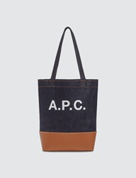 A.P.C. Axelle Small Tote Bag Brown