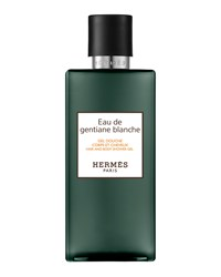 Hermes Eau De Gentiane Blanche Hair And Body Shower Gel 6.7 Oz. Hermes