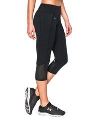 Under Armour Fly By Ultra Tight Ergonomic Capri Black