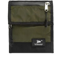 Patta Neck Wallet Black