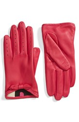 Fownes Brothers Women's Bow Short Leather Gloves