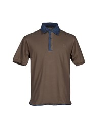 Bramante Topwear Polo Shirts Men Khaki