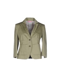 Harmontandblaine Suits And Jackets Blazers Women Military Green