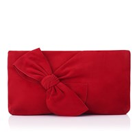 Lk Bennett L.K. Fay Clutch Red