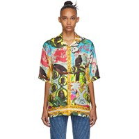Martine Rose Multicolor Bristol Hawaiian Shirt