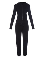 Pepper And Mayne Cashmere Hooded Jumpsuit