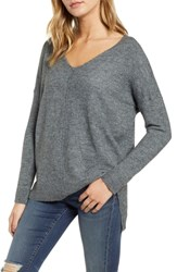 Dreamers By Debut Front Seam Pullover Charcoal