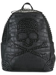 Philipp Plein Margn Backpack Black