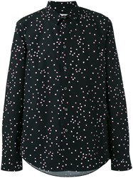 Paul Smith Ps By Allover Dots Print Shirt Black