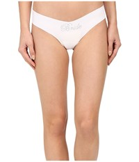 Commando Solid Thong W Embellishment Ct15 Bride Crystal Women's Underwear