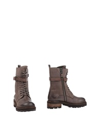 Henry Beguelin Ankle Boots Light Brown