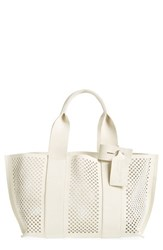 Pedro Garcia 'Castoro' Perforated Suede Tote