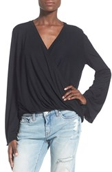 Women's Leith Surplice Long Sleeve Top
