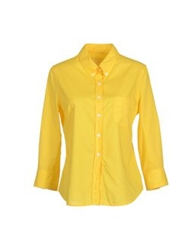 Boy By Band Of Outsiders Long Sleeve Shirts Yellow