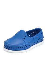 Native Howard Waterproof Rubber Boat Shoe Victoria Blue Youth