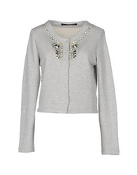 Annarita N. Sweatshirts Light Grey