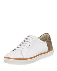 Kenneth Cole World Premier Leather Sneaker White