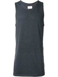 Stampd Elongated Tank Top Black
