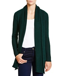 C By Bloomingdale's Cashmere Cardigan With Leather Elbow Patches