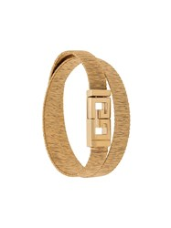 Givenchy Two Row Bracelet Gold