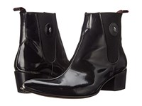 Jeffery West Pipe Black Polish Men's Shoes