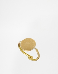 Made Kifungo Adjustable Disc Ring Gold