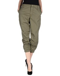 Mother Trousers Casual Trousers Women Military Green