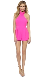 Finders Keepers Limitless Romper Fuschia