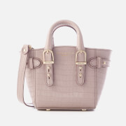Aspinal Of London Women's Marylebone Micro Tote Bag Lilac