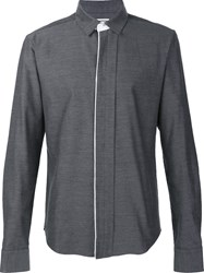 Wooyoungmi Concealed Fastening Shirt Grey