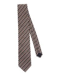 Boss Black Accessories Ties Men Dark Brown