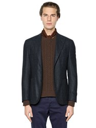 Boglioli K Jacket Textured Wool Blend Jacket