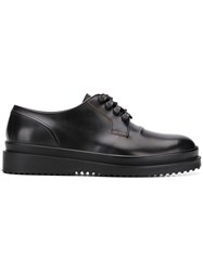 Oamc Lace Up Derby Shoes Black