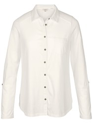 Fat Face Hayle Jersey Shirt Ivory