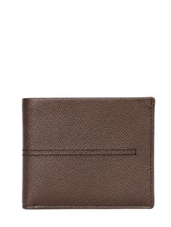 Tod's Stitched Embossed Leather Classic Wallet
