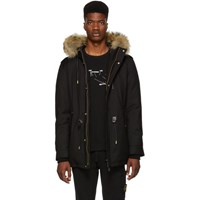 Mackage Ssense Exclusive Black Seth Parka