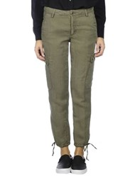 Gant Trousers Casual Trousers Women Military Green
