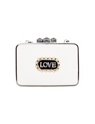 Pixie Market Love Pearl Clutch