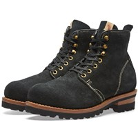 Visvim Zermatt Boot Folk Black