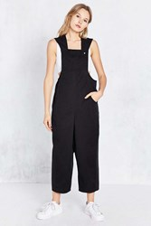 Bdg Bungee Wide Leg Crop Overall Black