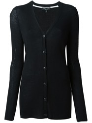 Rag And Bone Rag And Bone Longline Cardigan Black