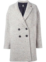 Paul Smith Black Label Tweed Coat Grey