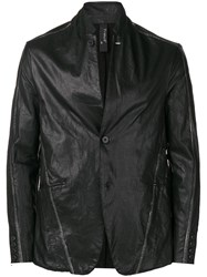 Transit Fitted V Neck Jacket Black
