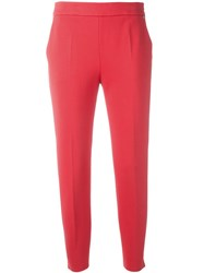Max Mara Track Pants Pink Purple